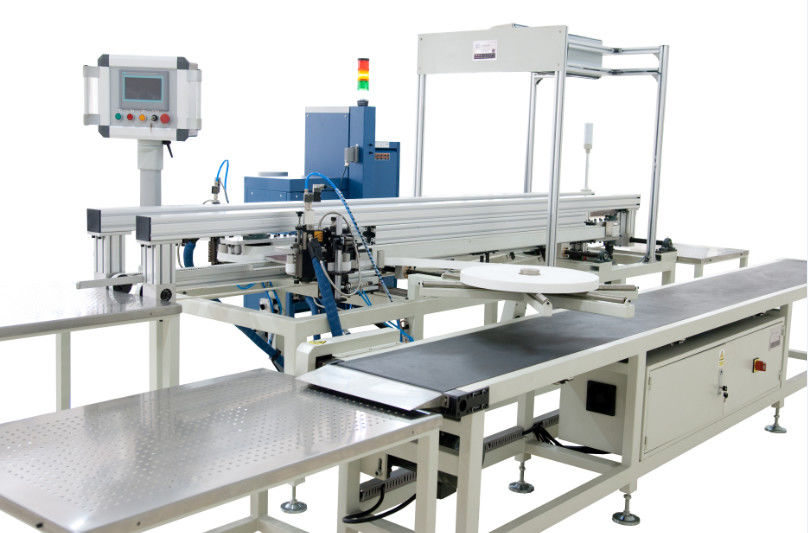 Auto Continuously Edge Bonding Machine , Automatic Car Air Filter Production Line