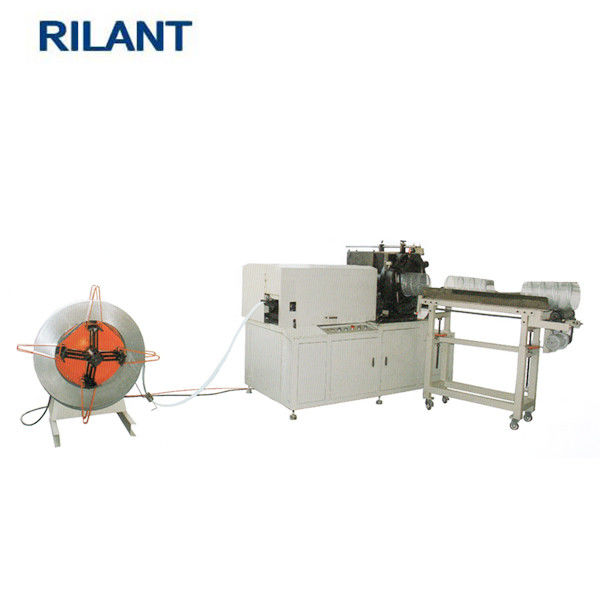 Heavy Duty Car Air Filter Making Machine For Making Expanded Metal Spiral Core